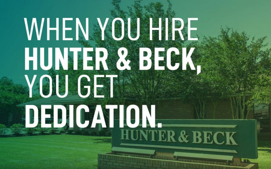 when you hire hunter and beck lawfirm you get dedication