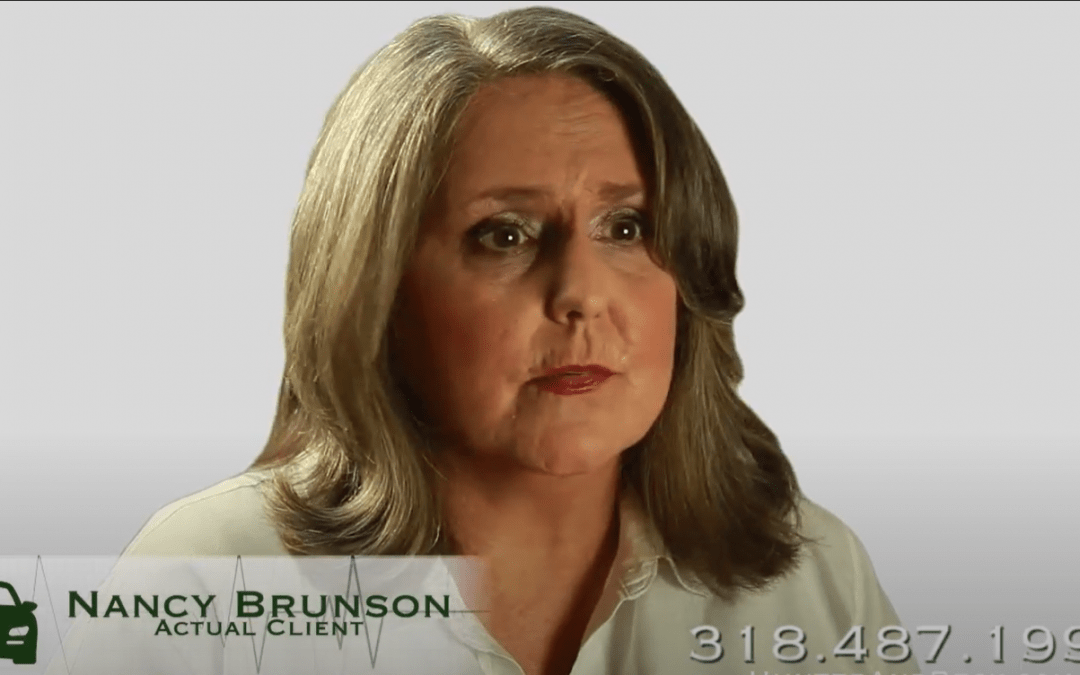 Client Testimonials: Lowell Bowden and Nancy Brunson – Car Accident